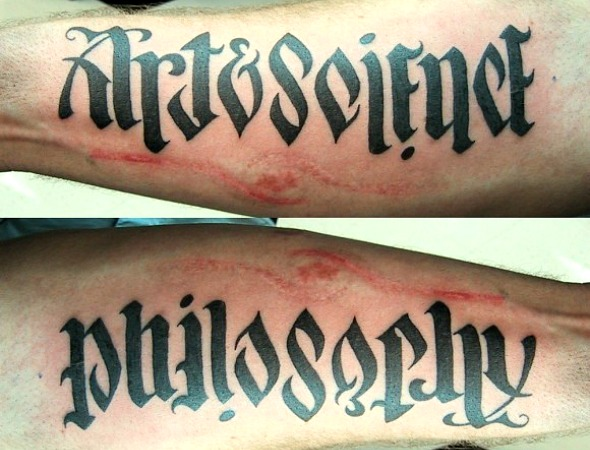 Top 10 Optical Illusion Tattoos