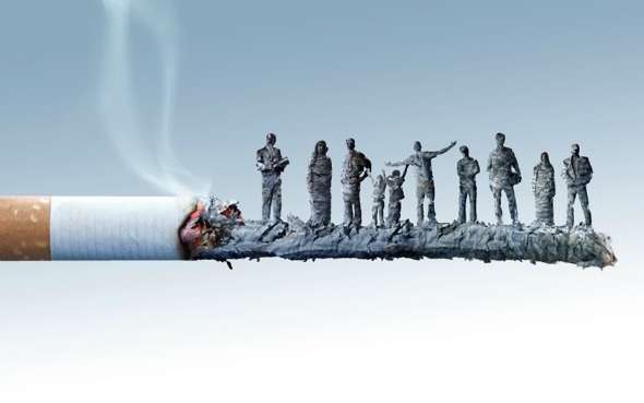 Other Worldly Cigarette Art