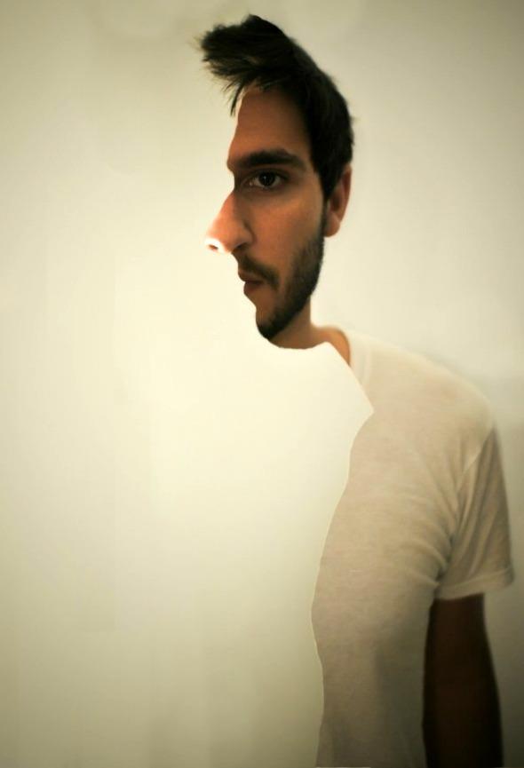 weird profile illusion