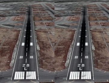 Tilted Road Optical Illusion