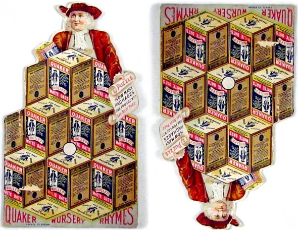 Vintage Quaker Oats Puzzle