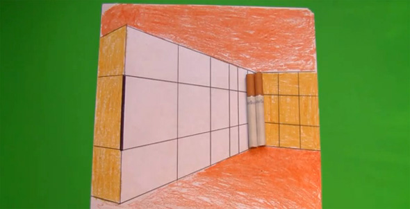 Cigarettes and Buildings Illusion