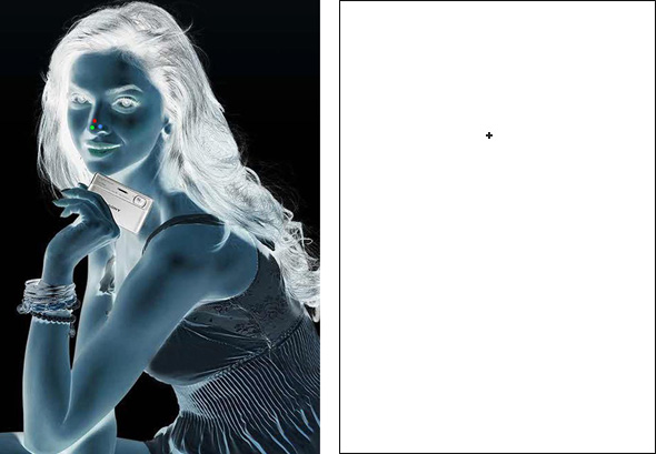 Beyonce Afterimage Illusion