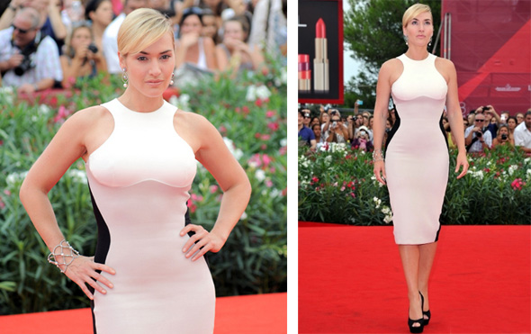 Kate Winslet optical illusion dressy