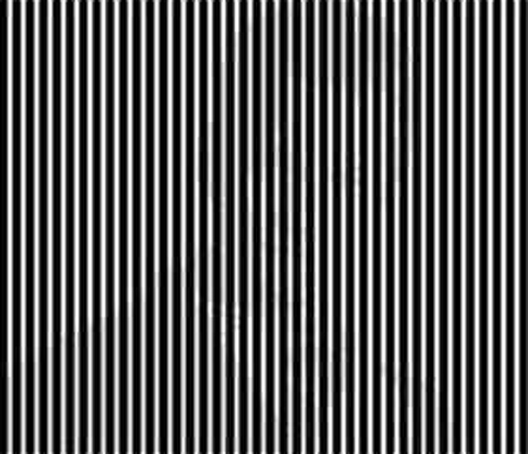 Cross Your Eyes To See Him!