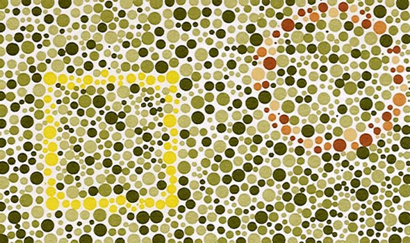 Reverse Color Blindness Test