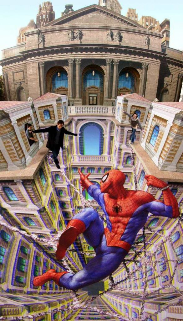 kurt-wenner-spider-man-3d-art-1321479675