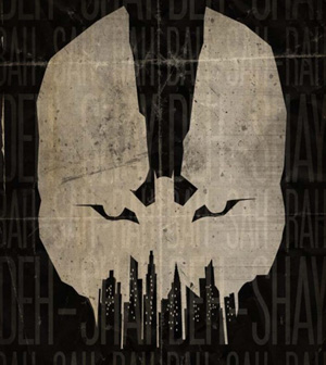 The Dark Knight Rises Batman-Bane Poster