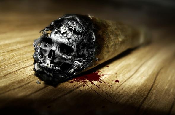 dark-skull-smoking-kills