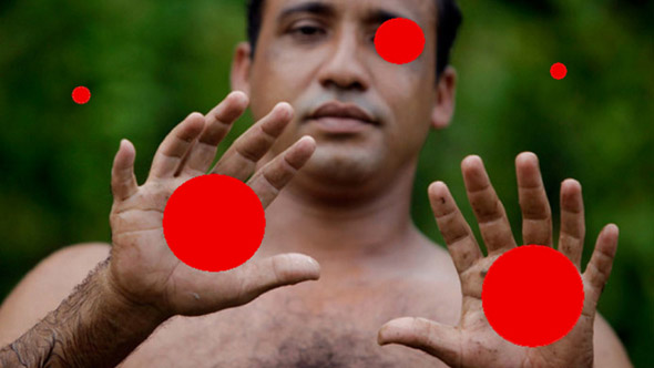 The 5 Red Balls Optical Illusion
