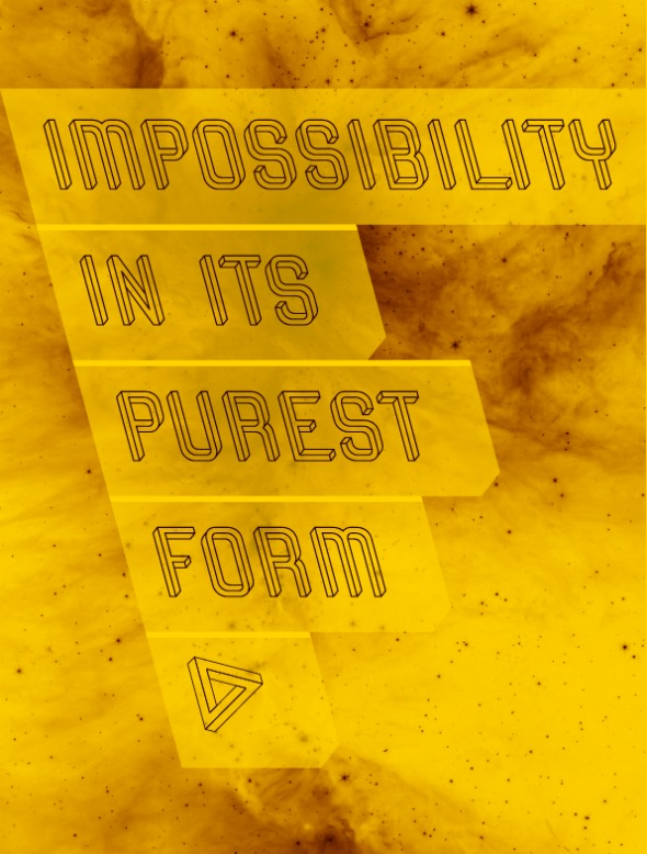 The Impossible Font