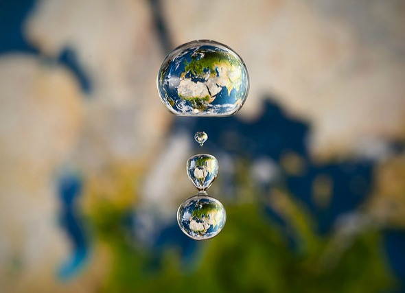Creating the World from Water