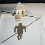 Magic Angle Shadow Sculptures