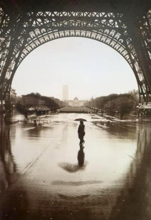 Face of Paris Optical Illusion