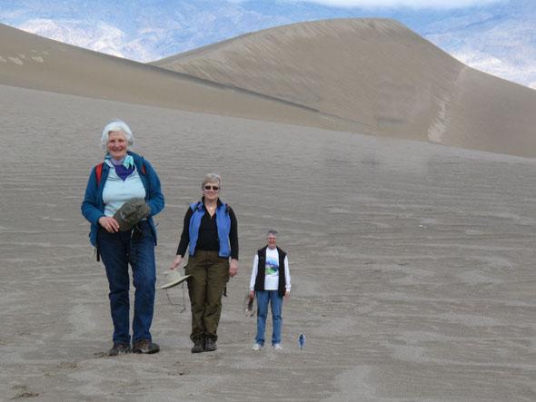 Desert People Optical Illusion