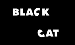 Black Cat Optical Illusion