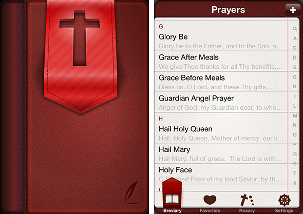 Support Us! Get Breviary for iPhone