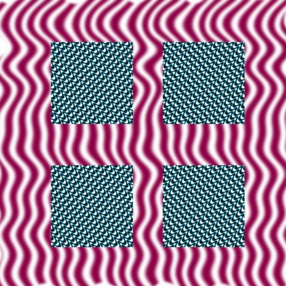 Instable Pattern Optical Illusion