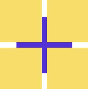 Breathing Square Optical Illusion