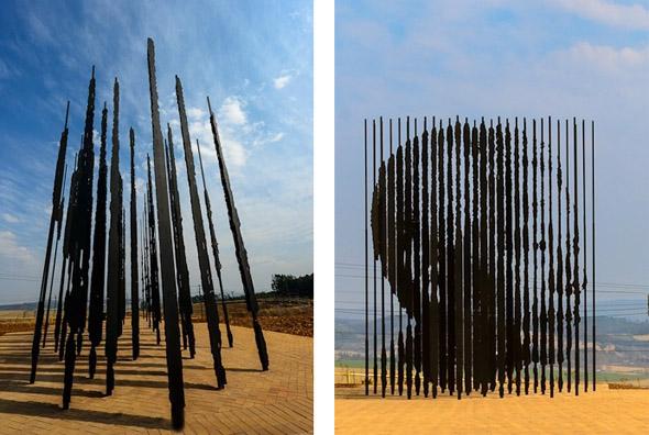 Nelson Mandela Art Installation