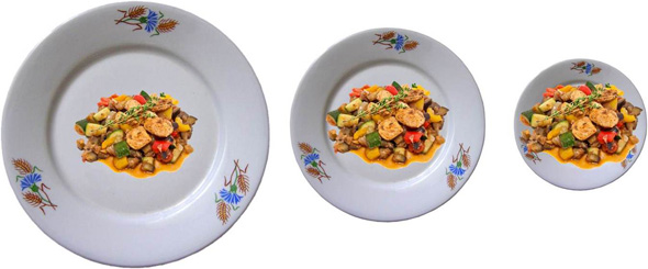 The Portion Size Optical Illusion