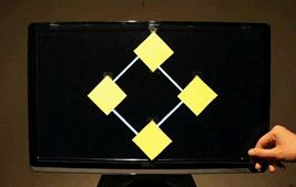 Floating Rectangle Optical Illusion