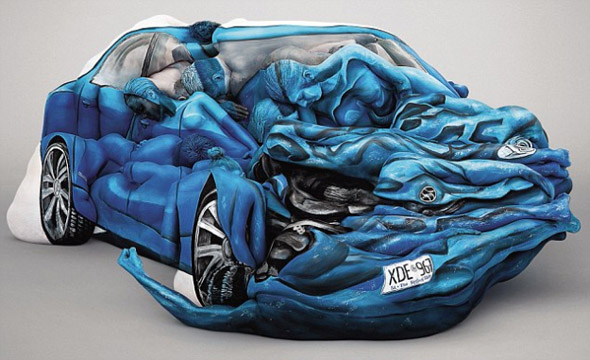 Body Paint Car by Emma Hack