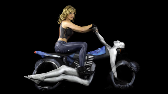 Human Motorcycles are HOT!