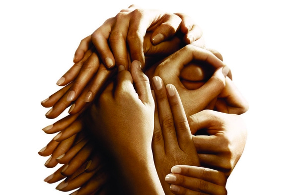 Heads in Hands Poster Set