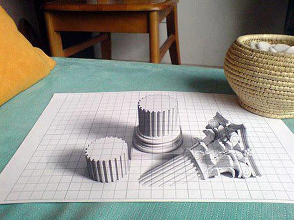 Wonderful 3D Pencil Drawing
