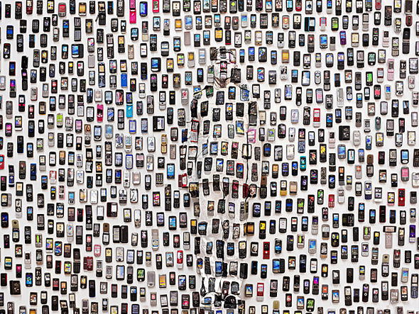 Liu_Bolin_HITC_Moblie_Phone_photograph_2012