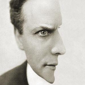 Harry Houdini Optical Illusion