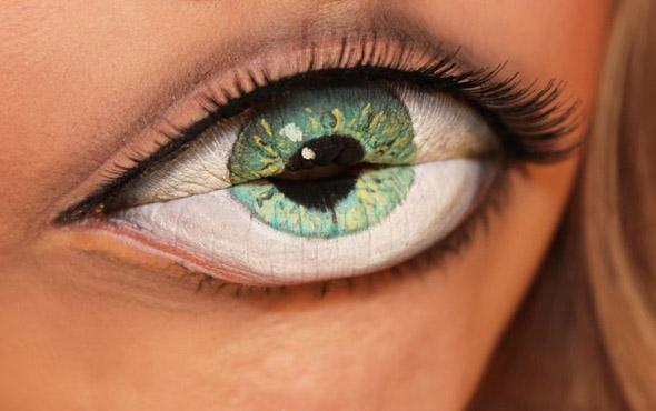 Hungry Eye Optical Illusion