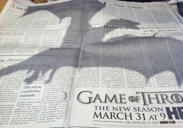 Game of Thrones Clever Illusion