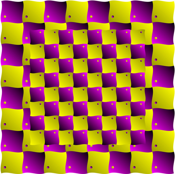 Another Floating Blocks Optical Illusion