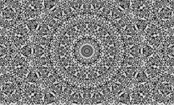 Trippy Mandala Optical Illusion