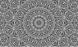 Trippy Mandala Optical Illusion