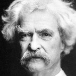 This one is famous writer Mark Twain.