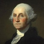 None other than George Washington.