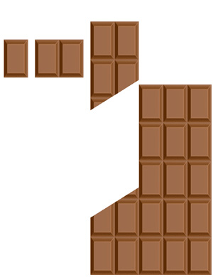 Chocolate Pieces Puzzle