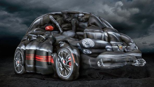 Body painted Models Sell Fiat Cars