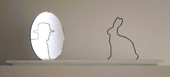 Gentleman Rabbit Optical Illusion
