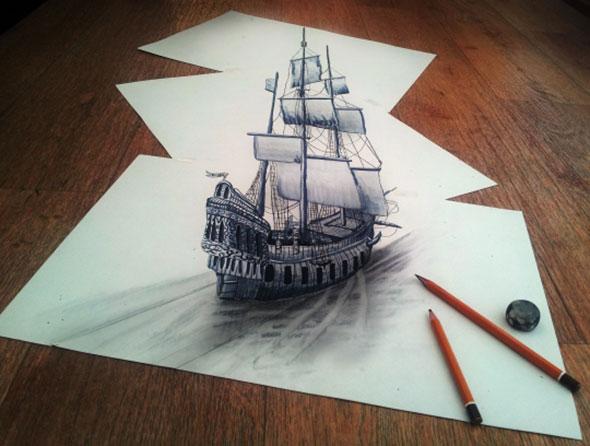 More 3D Pencil Art