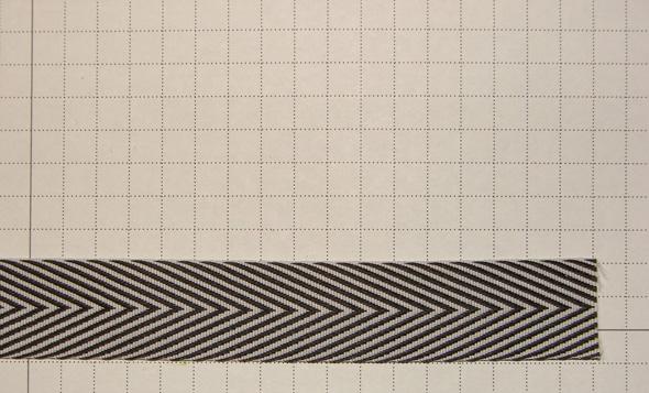 Crooked Band Optical Illusion