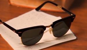 VIDEO: RayBan Sunglasses Illusion