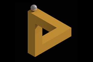 Penrose Triangle Animation