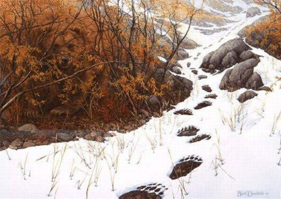 Bev Doolittle Double Back Illusion