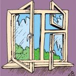 window illusion