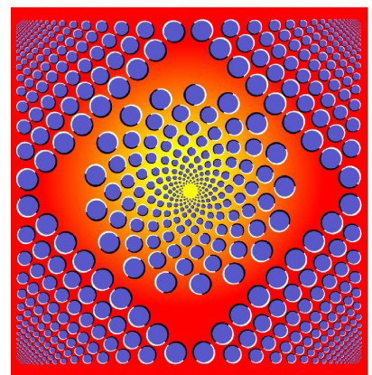 Blowing Up Optical Illusion