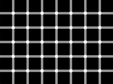 Count the Dots in this Optical Illusion